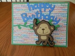 Monkey Card for OWH challenge