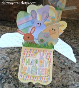 Easter box in a card