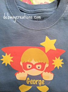 George superboy shirt2014-04-30 17.44.31