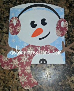 snowman envelope bag