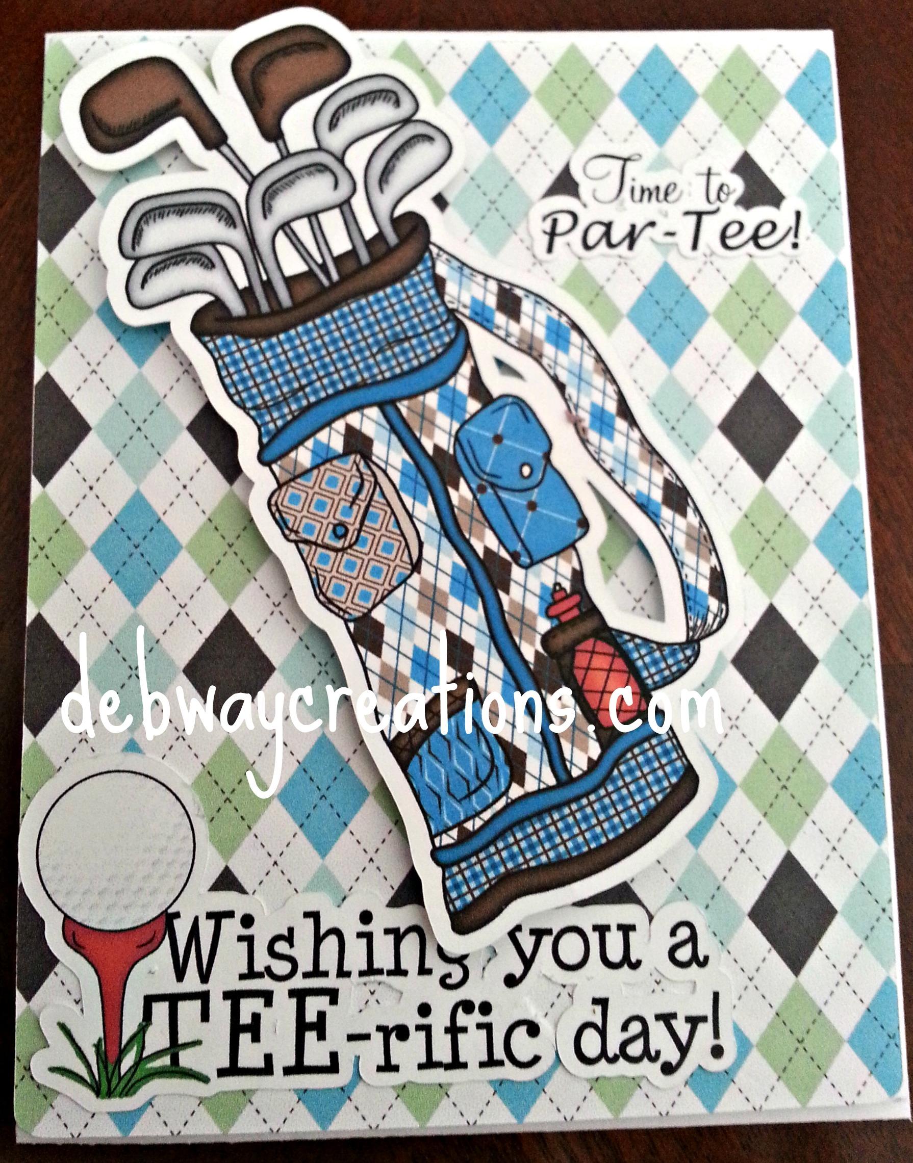 Male Birthday Card Debwaycreations